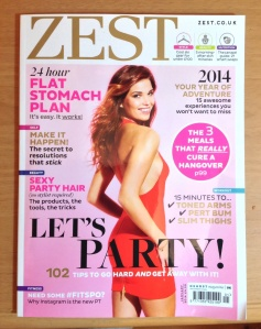 Final edition of Zest January 2014