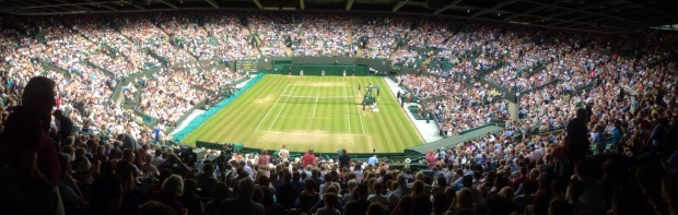 Wimbledon Court One 2/7/14