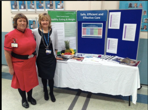 Royal Liverpool Hospital Food and Nutrition event - Joyce and Margi