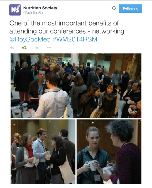 You can see me in the bottom left photo doing  a bit of networking !